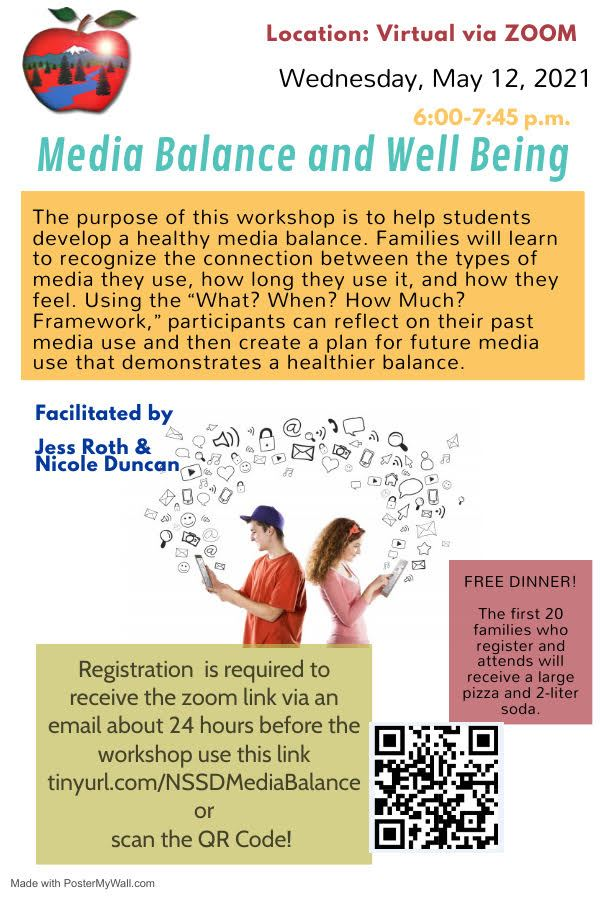 Family Workshop Media Balance and Well-being