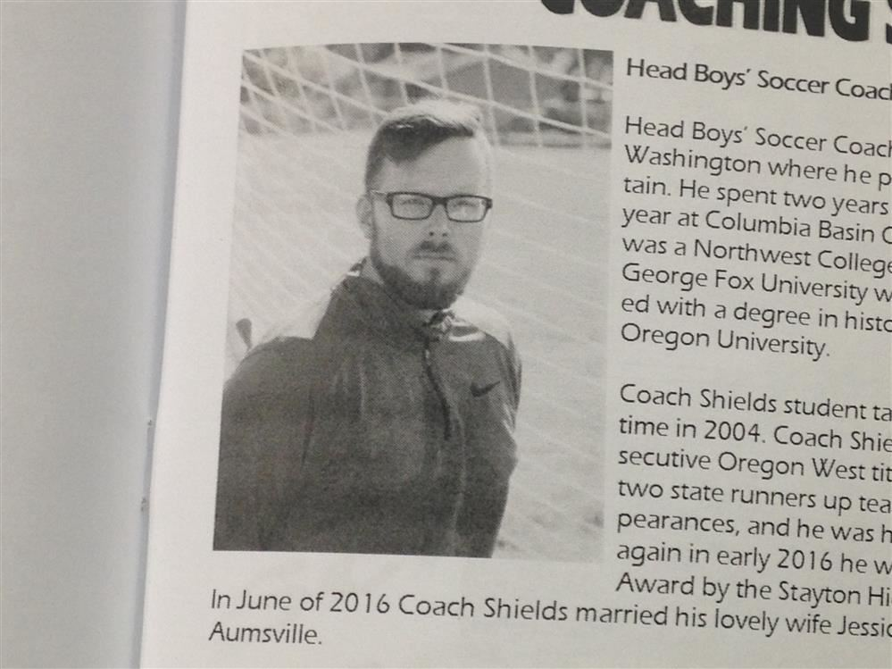 Coach Profile: Chris Shields