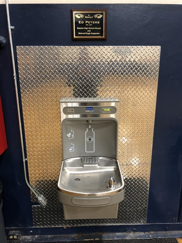 We love our new Water Fountains!