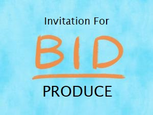 Invitation for Bid - PRODUCE