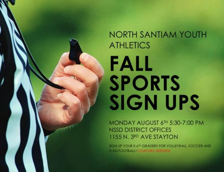 Fall Sports Sign-Ups!